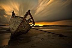 Bunbeg Wreck, Donegal.